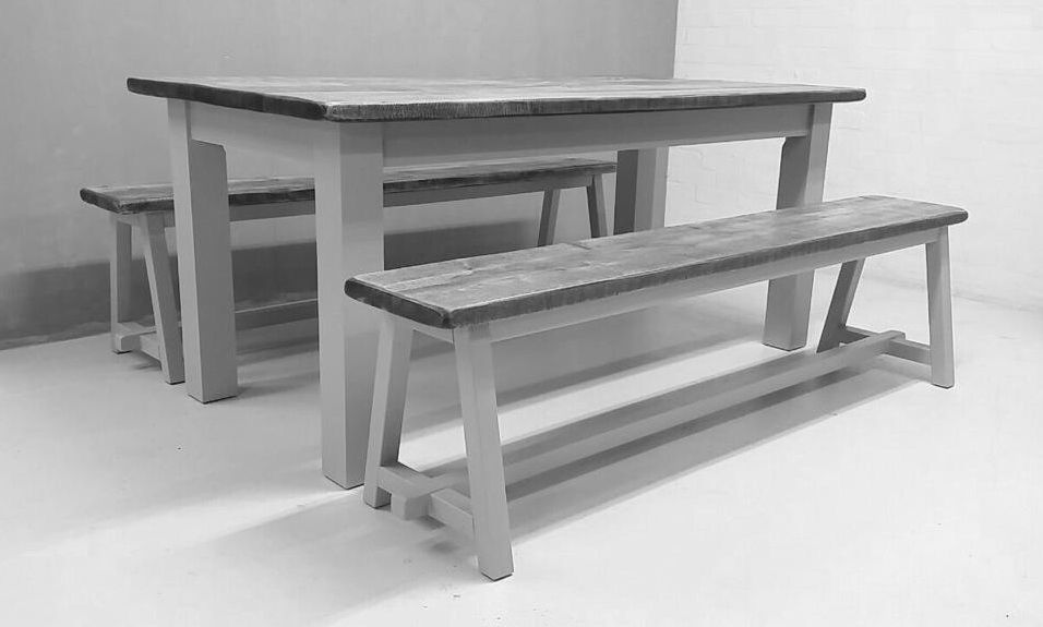 Superb Ollu Handmade Tables Benches In A Reclaimed Style Ollu Evergreenethics Interior Chair Design Evergreenethicsorg
