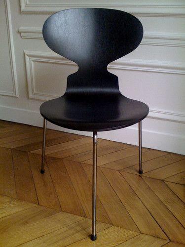 Chaise Fourmi 3 Pieds Design Arne Jacobsen Chaise Fourmi Decoration Interieure Fauteuil