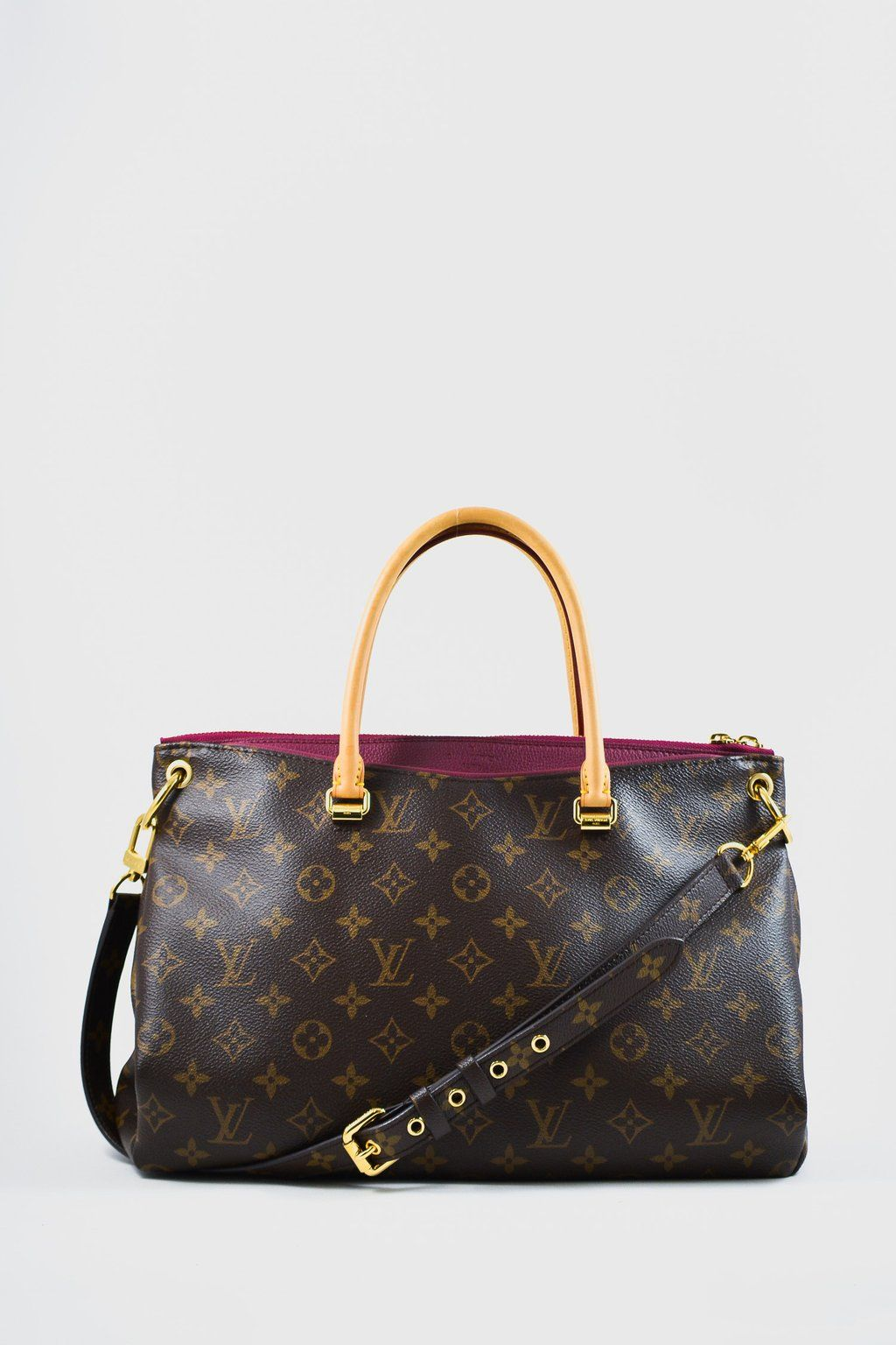 3071b172ce0c Louis Vuitton Monogram Pallas Tote GM in