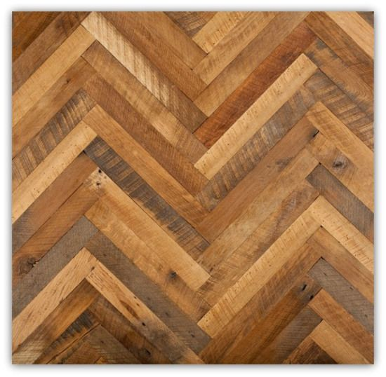 Herring Bone Pattern Reclaimed Wood Wall Design Magnifique Orlando Florida