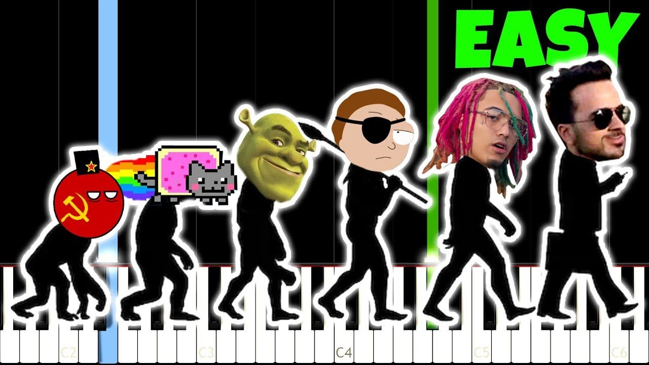 Evolution Of Meme Music 1500 2018 And How To Play It Memes Songs Learn Piano