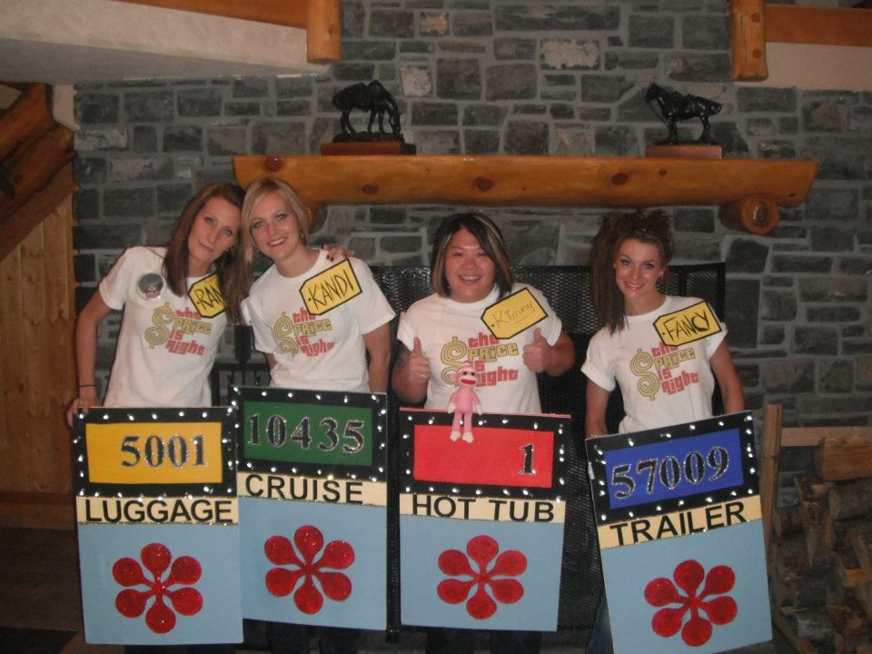 Best Halloween group costume EVER!! Price is Right