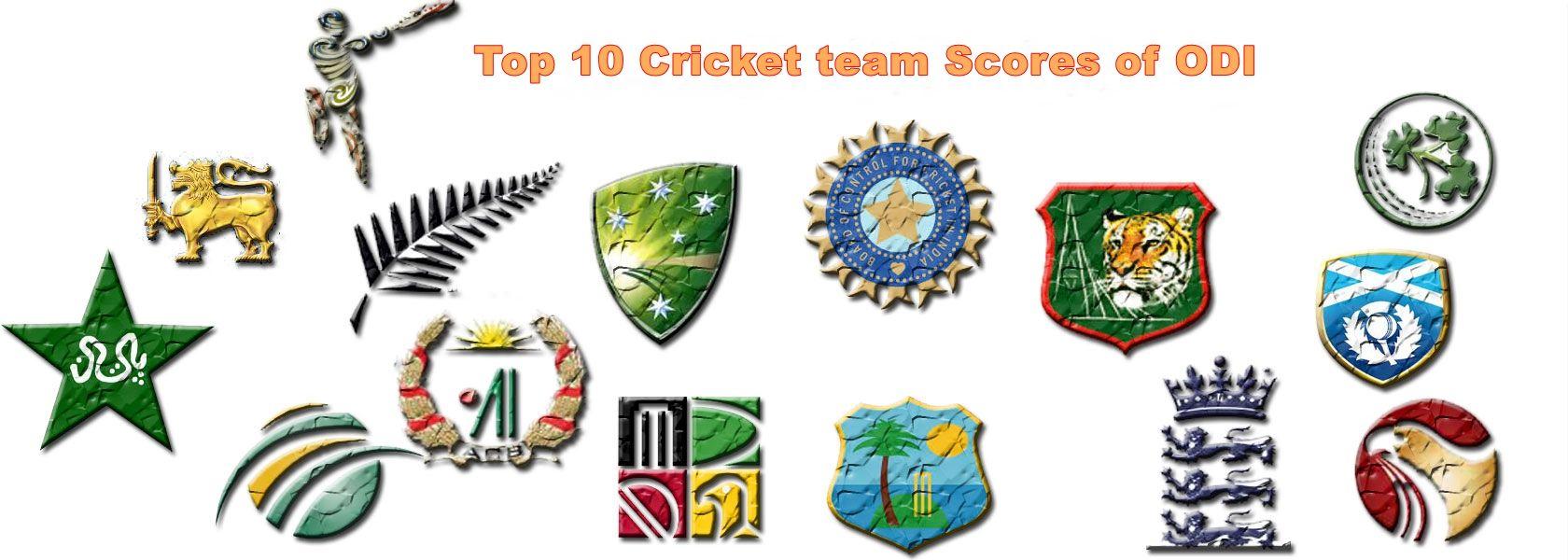 Top 10 Scores Of Cricket Teams Cricket World Cup Winners Cricket World Cup World Cup Winners