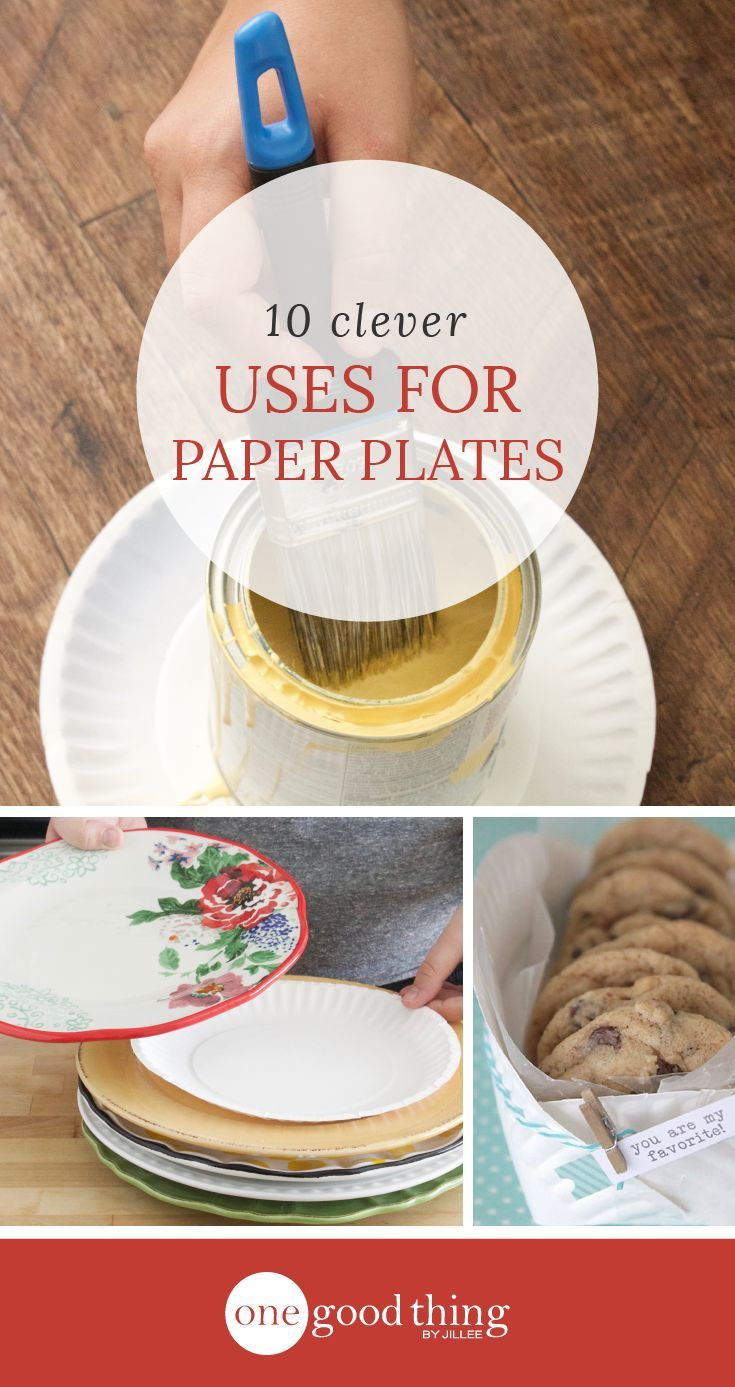 10 Practical And Creative Ways To Use Paper Plates - One Good Thing by Jillee & 10 Practical And Creative Ways To Use Paper Plates | Creative ...