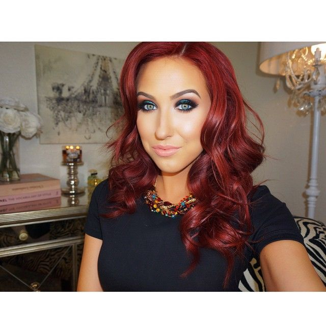 Image result for Jaclyn Hill Red Hair