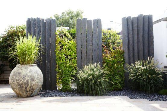 16 Raffinierte Zaune Fur Kleine Garten Natursteine Garten