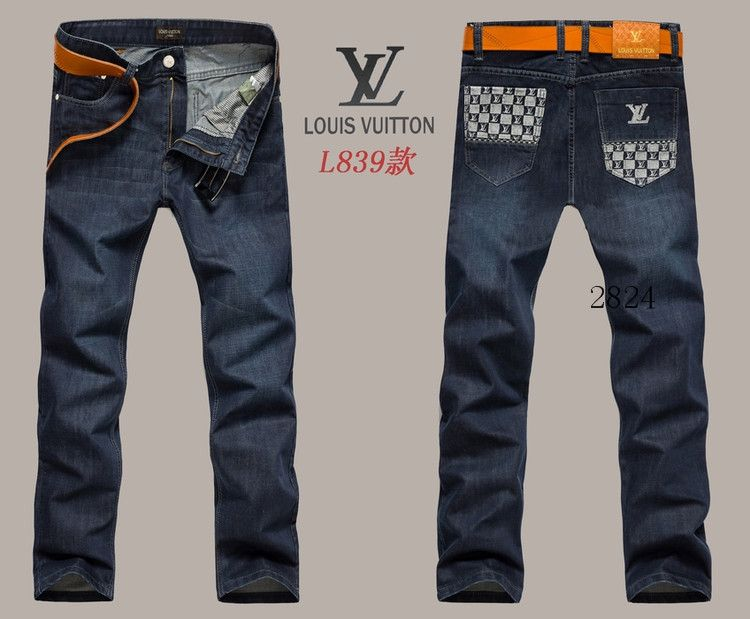 98d855aaf61 Louis Vuitton men jeans-LV16224E