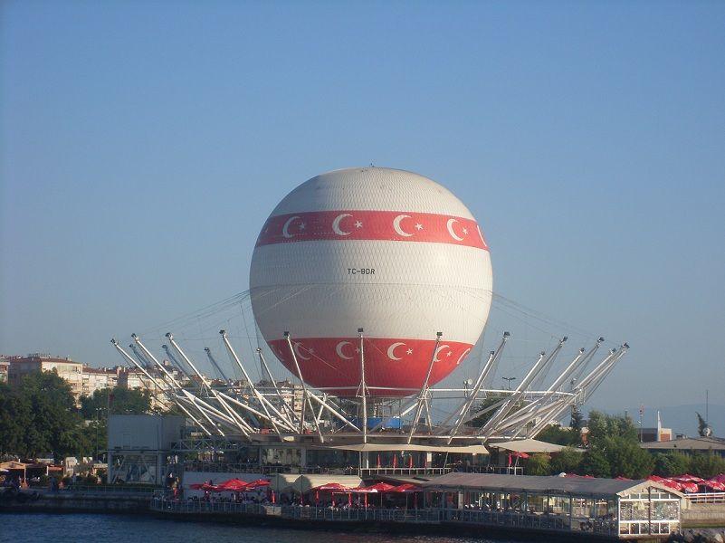 Kadikoy Balloon at Istanbul, Turkey