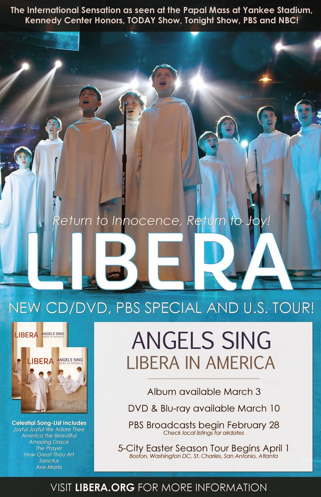 Kitchen Table: \'Angels Sing – Libera in America\' will be on WHYY 3/1 ...