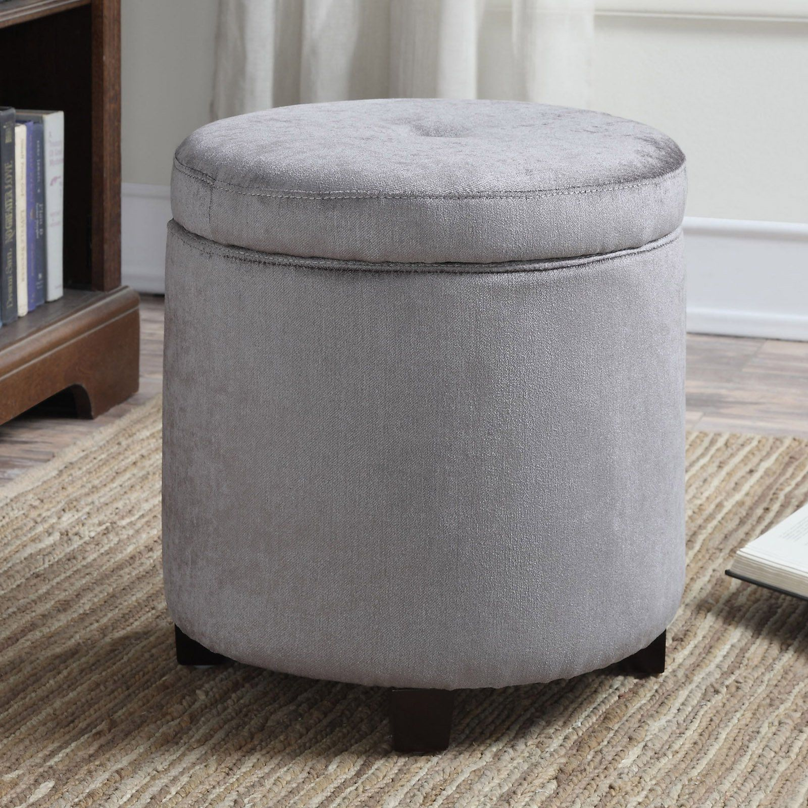 Terrific Christies Home Living Mia Upholstered Storage Ottoman From Gmtry Best Dining Table And Chair Ideas Images Gmtryco