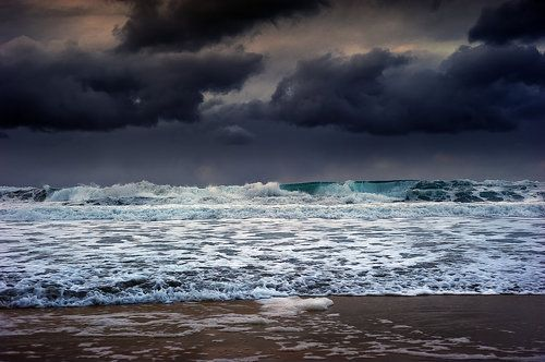 Sandnes, Norway Heavy and dangerous sea by steinliland