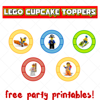Prime Lego Party Printables Part 1 Cupcake Toppers Lego Party Funny Birthday Cards Online Overcheapnameinfo