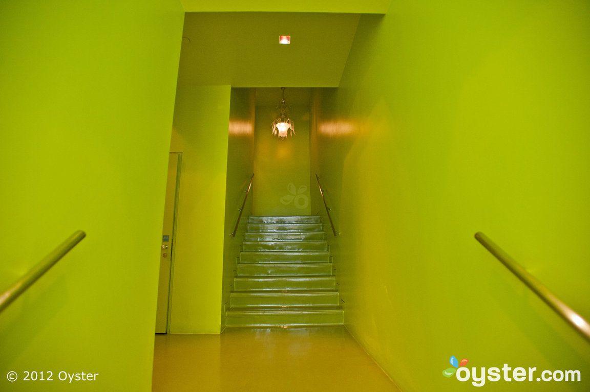 Hallways at the Sanderson, a Morgans Hotel