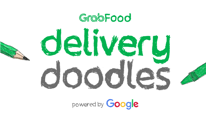 Collaborating With Google Grab Introduces Delivery Doodles Feature