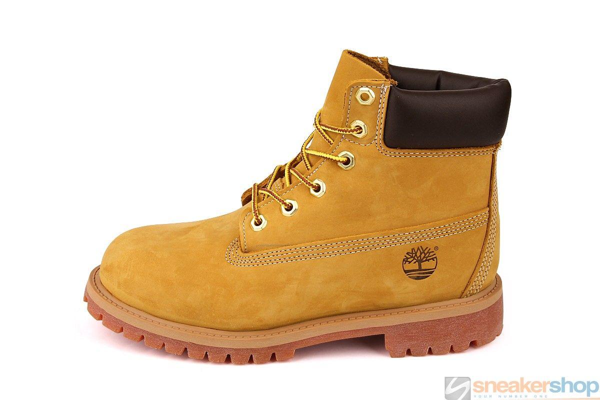Timberland Junior 6-Inch Classic Waterproof Boot (Wheat Nubuck) | 12909