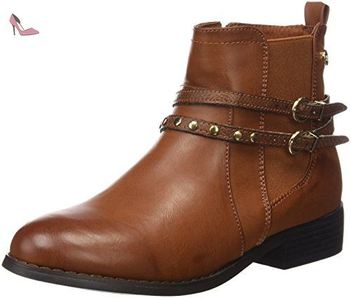 Xti BOTIN MUJER - marron - Chaussures Bottine Femme