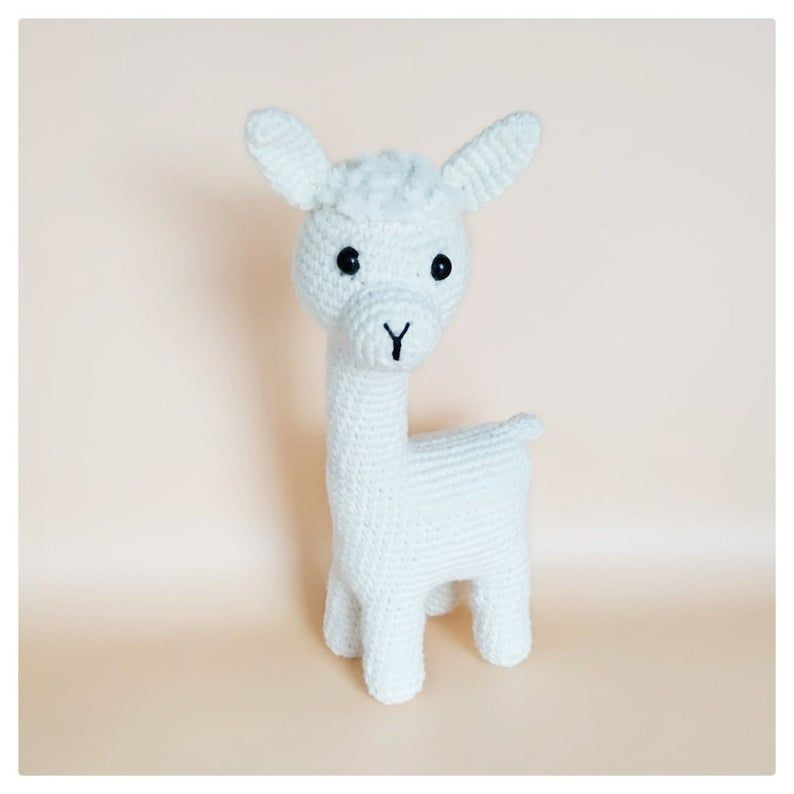 Alpaca Crochet Pattern Llama Amigurumi Pattern Cuddle Toy Stuffed ... | 794x794