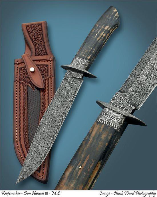 Click To View Large Image Don Hanson Custom Knives Knives