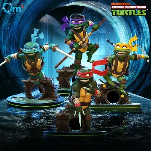 Nickalive Qmx Unveils Teenage Mutant Ninja Turtles Q Fig Line Teenage Mutant Ninja Turtles Teenage Mutant Ninja Ninja Turtle Toys