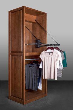 Hafele America Motorized Wardrobe Lift   Traditional   Closet Storage    Raleigh   Hafele America Co