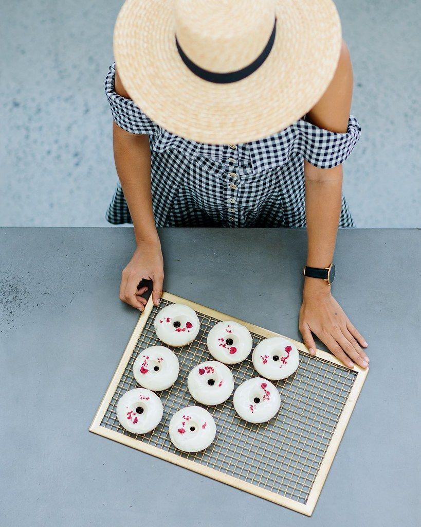 Coconut & Raspberry Baked Doughnuts Collective Gen