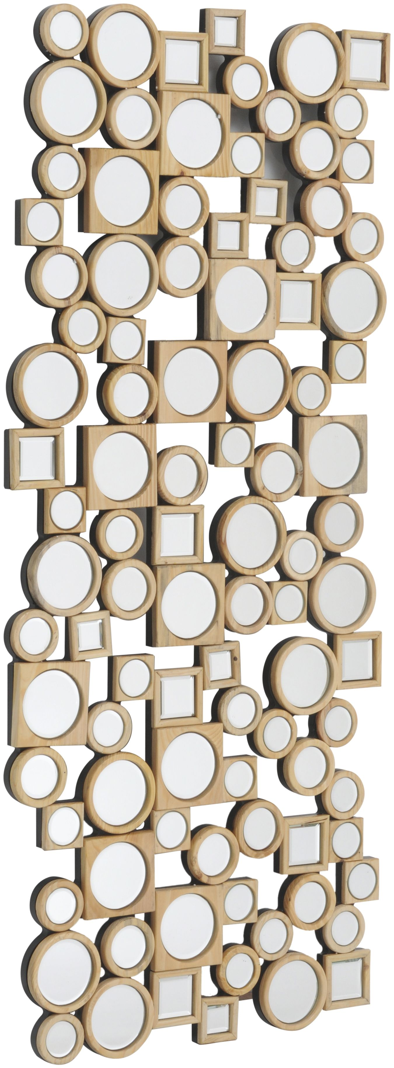 Lowes Wall Mirrors libra's lowes baker rectangular wooden mirror wall art - http