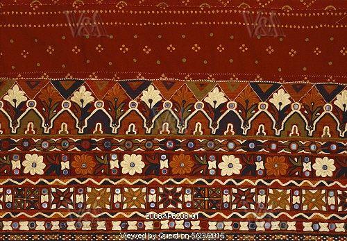 Skirt cloth. Sindh, Pakistan, mid 20th century