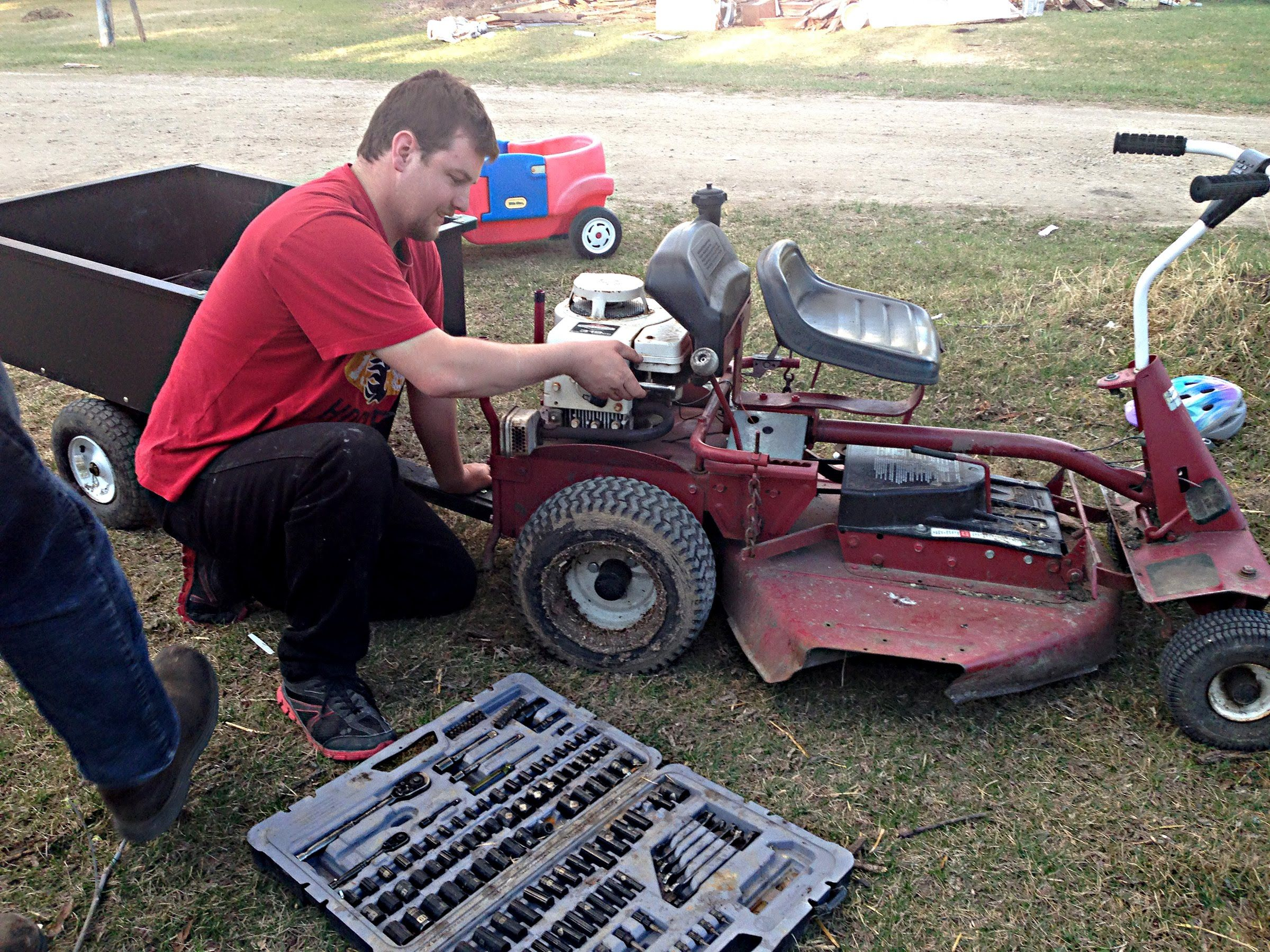 Old Snapper Tractor Wiring Harness Riding Lawn Mower Screech School Pinterest 2400x1800