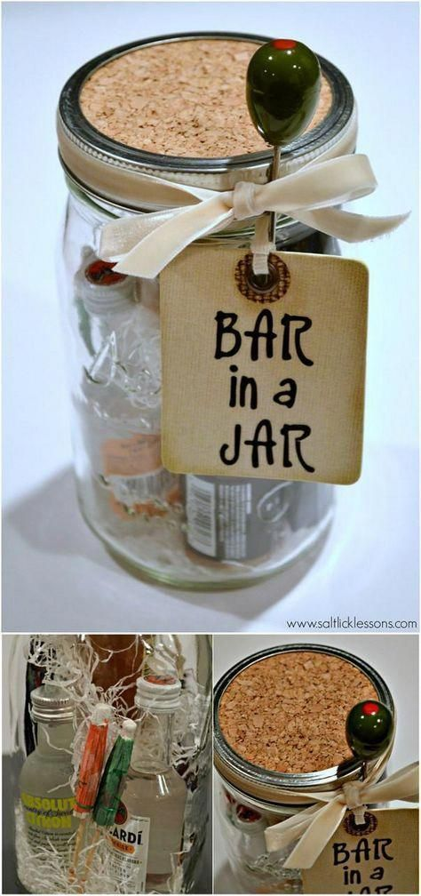 160+ DIY Mason Jar Crafts and Gift Ideas - Page 17 of 17 - DIY & Crafts #hobbycraft