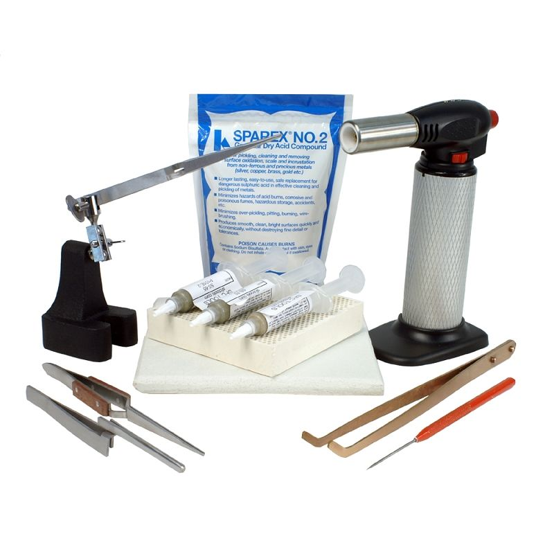 Jewelry Soldering Kit With Soldering Paste And Butane Torch Soldering Jewelry Making Kits Solder Paste