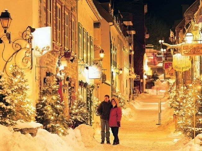 quebec city at christmas time quebec city canada the city turns into a magical christmas village - Quebec City Christmas