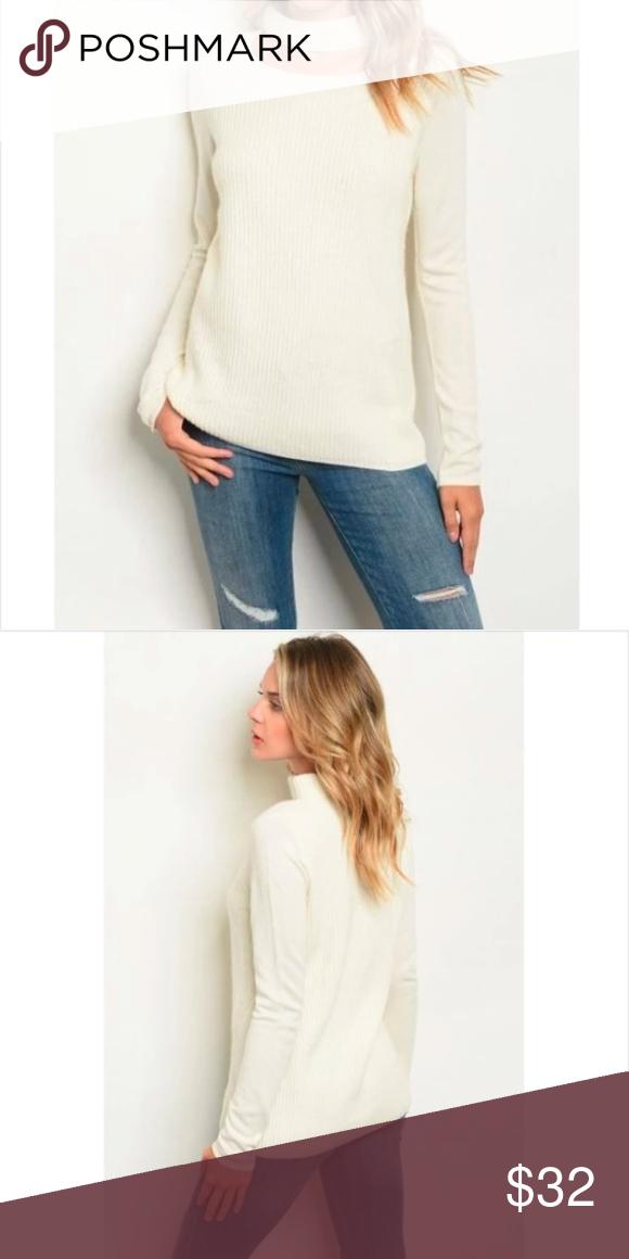 Photo of Suéter con cuello gargantilla de marfil en lana / cachemira ** La selección de Marni ** Este suéter versátil …