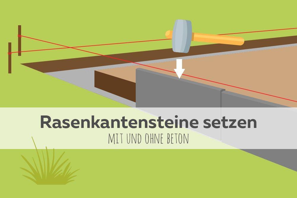 Fur Ein Stimmiges Gesamtbild Sollte Der Ubergang Vom Rasen Zu Beet Co Ordentlich Gestaltet Rasenkantensteine Garten Neu Gestalten Rasenkantensteine Verlegen