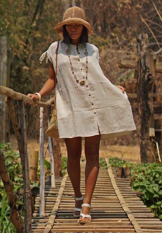 Boho Dress Shirt Dress Summer Dress White Tunic Dress Etsy In 2021 Boho Dress Shirt Dress Summer Summer Dresses [ 1142 x 794 Pixel ]