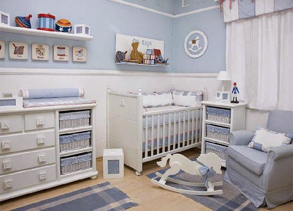 Dormitorios colores y estilos fotos de dormitorios para - Colores para habitaciones de bebe ...