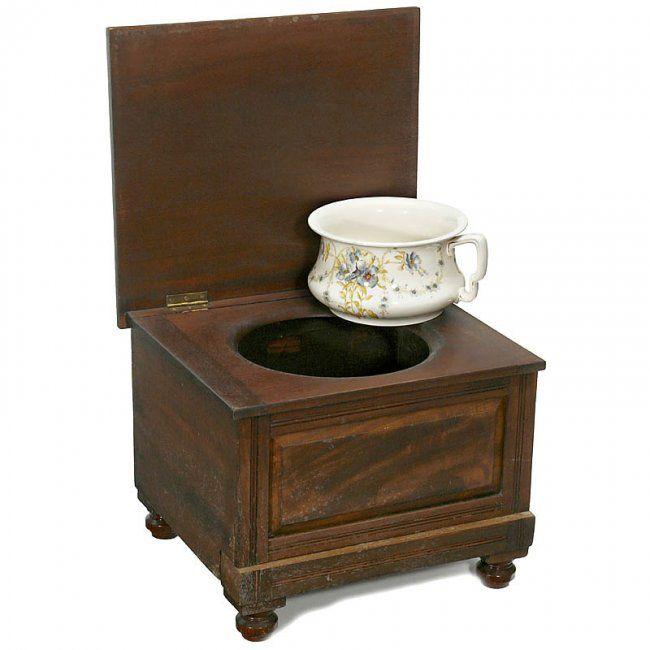 Chamber Pots Toilet Art Antiques