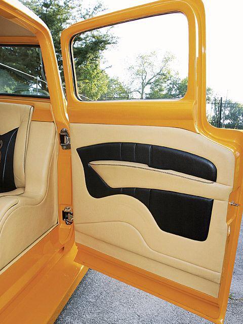 Ford F100 Door Panel Fundas Para Asientos De Coche Interior De Camiones Asientos De Coche