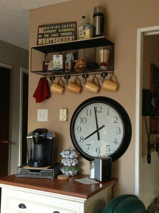 40 ideas to create the best coffee station coffee bar for Coffee station ideas for the home