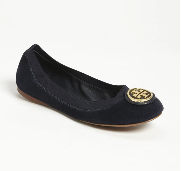 Tory Burch 'Caroline 2' Flats, 2 colors at Nordstrom for $140.98 with FREE shipping