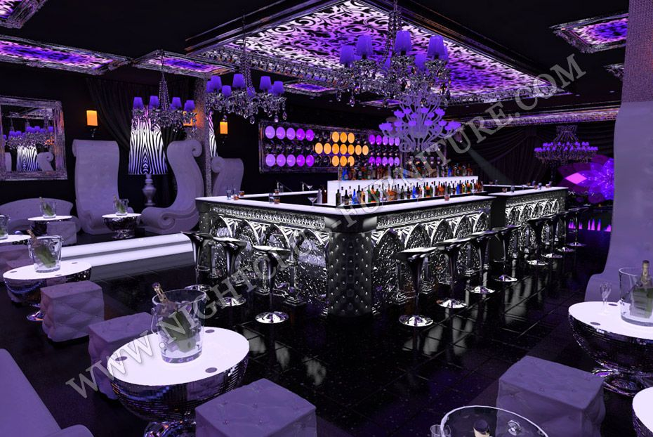 Nightclub Interior Design | ... Club chairs, Lounge Furniture, Bar ...