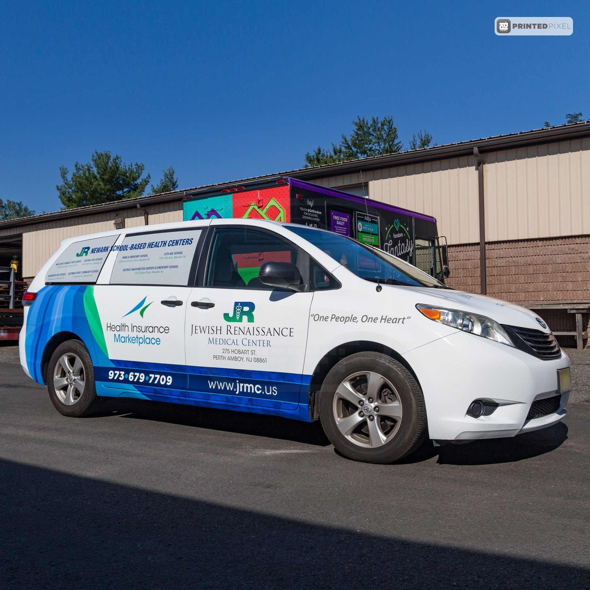 Toyota Sienna Van Wrap For The Jrmc And Their New Branding