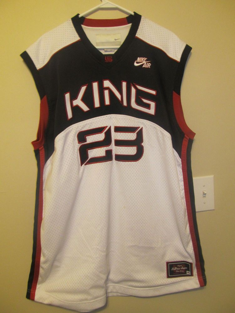 separation shoes 6ab1c 8168b Lebron James #23 King James Jersey - Nike Adult 2XL #Nike ...