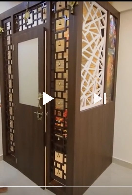 Pin By Vinod Saini On Quilling Room Door Design Pooja Room