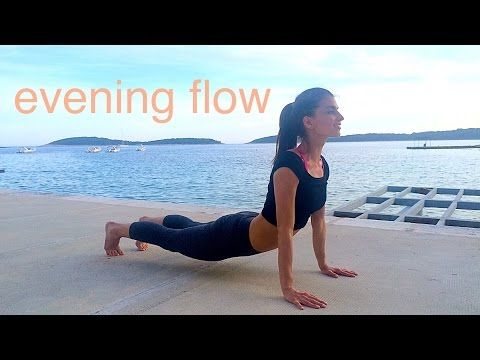Evening Flow: De-stress and Wind Down - YouTube
