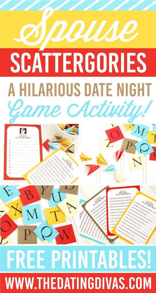 scattergories game night date