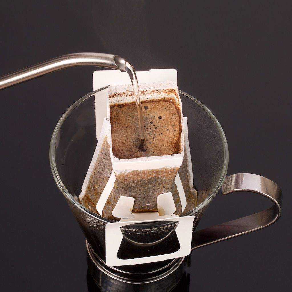 Individual pour over coffees are now available in the uk