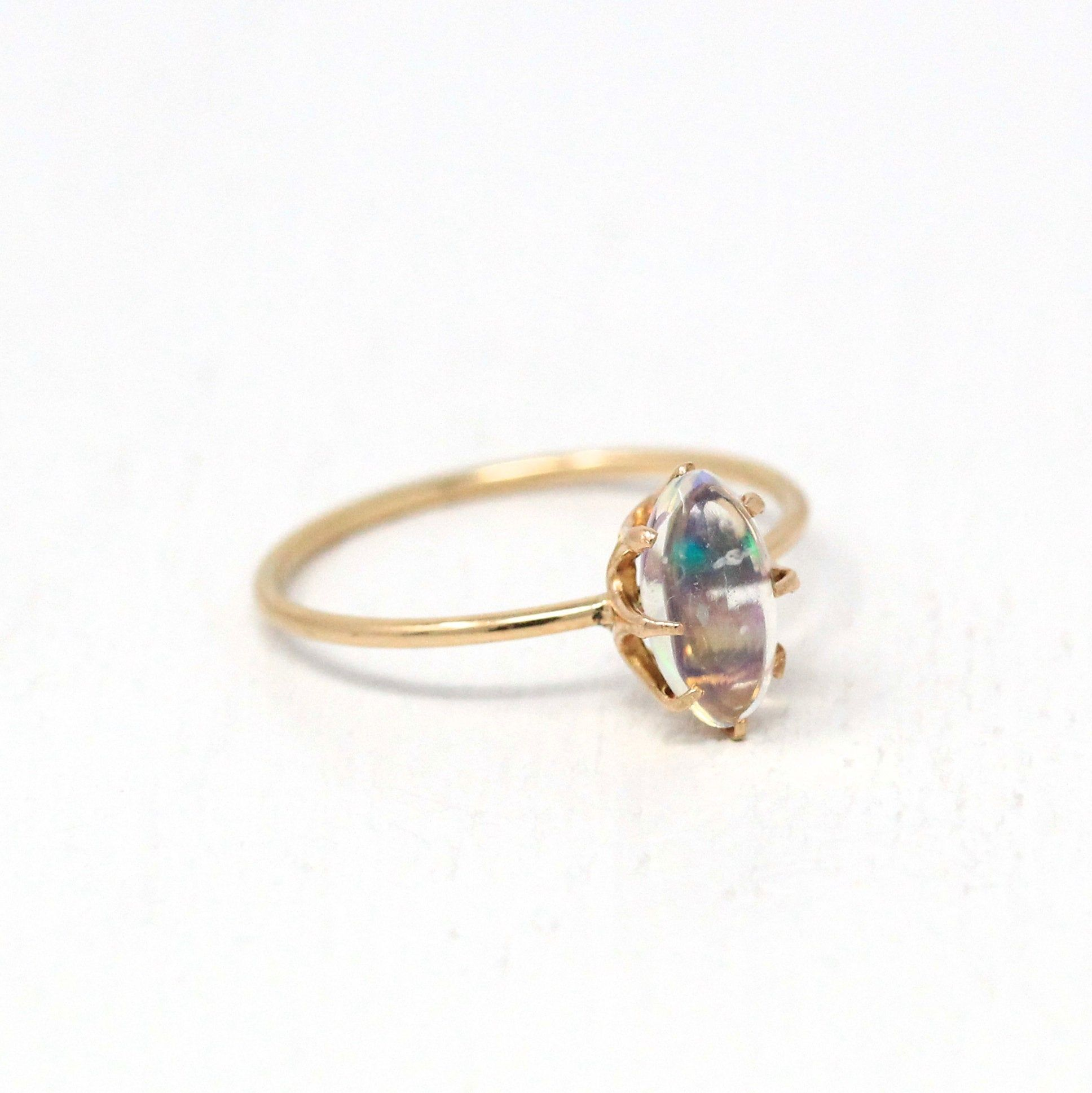 Reserved Sold To Sarah Via Layaway 1st Payment Jelly Opal Etsy In 2020 Jelly Opal Antique Opal Ring Antique Rings