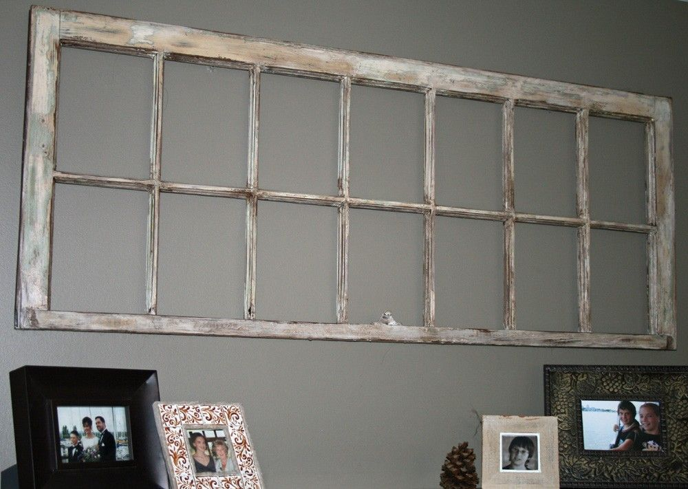 antique window frames - Window Frame Wall Art