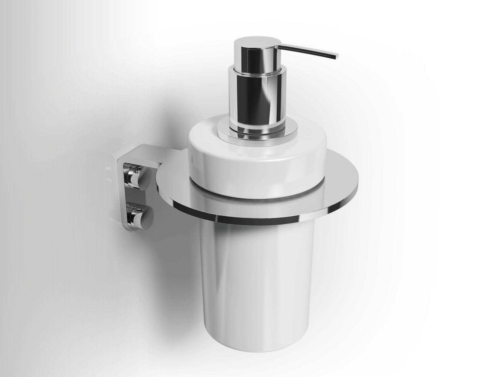 Wall Mounted Ceramic Liquid Soap Dispenser Lobelia Inox Liquid Soap Dispenser By Alna Soap Dispenser Liquid Soap Soap