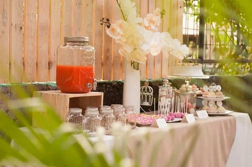 Shabby chic garden party Bridal Showers | party | Pinterest